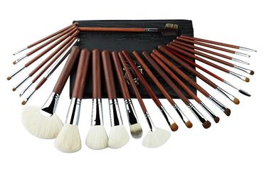 China 2016 NEW Full Natural Hair And Sliver Copper Foundation Makeup Brush Kits supplier