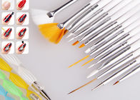 15 Piece Synthetic Thin Nail Art Brushes Set / Nail Art Fan Brush