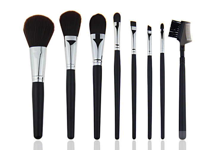 Eco Friendly Travel Private Label Makeup Brushes with Lip Brush and