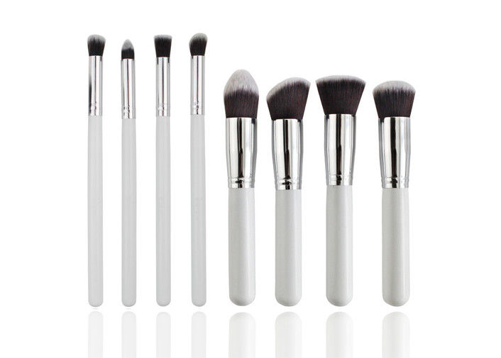 Bronzer Makeup Brush With Silver Metal Ferrule Normal Synthetic Hair