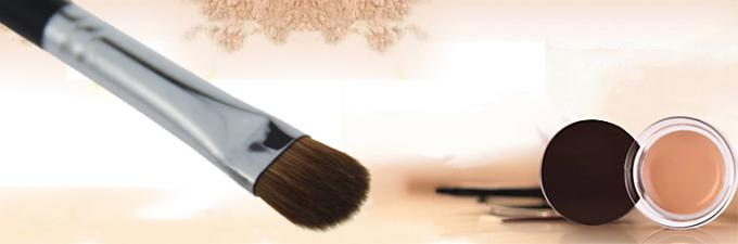Beauty Cosmetic Synthetic Concealer Brush Foundation Makeup Brush Black