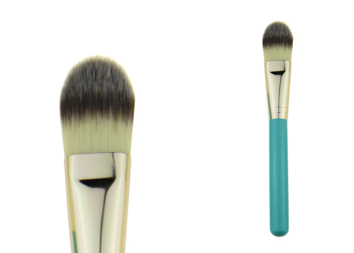Medium Powder Foundation Brush Concealer Makeup Brush With Nylon Hair