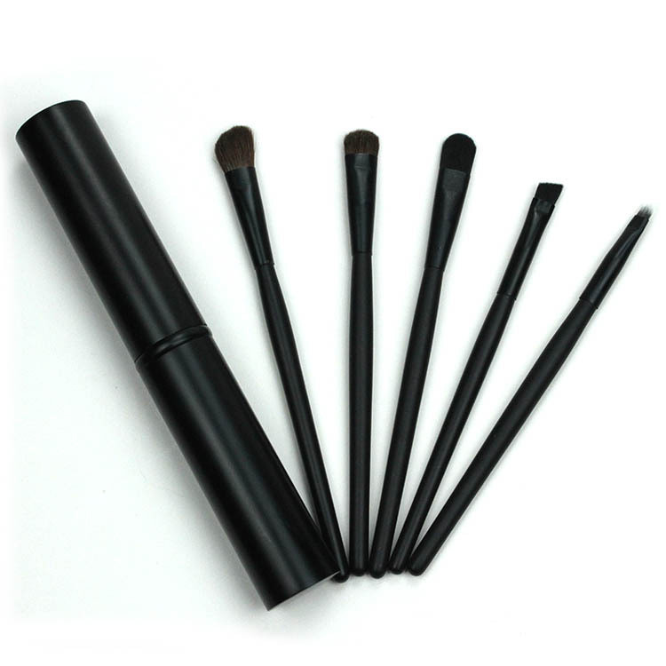 Lady mini 5pcs Professional Custom Logo Eye use Makeup Cosmetic Brushes