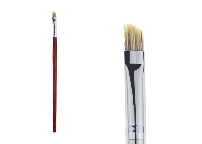 Squirrel Hair Professional Cosmetic Makeup Brushes For Eyebrow Pencil / Mascara