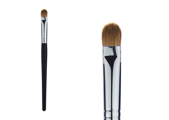 Horse Hair Blending Eye Shadow Brush / Eye Makeup Brush , Eco Friendly
