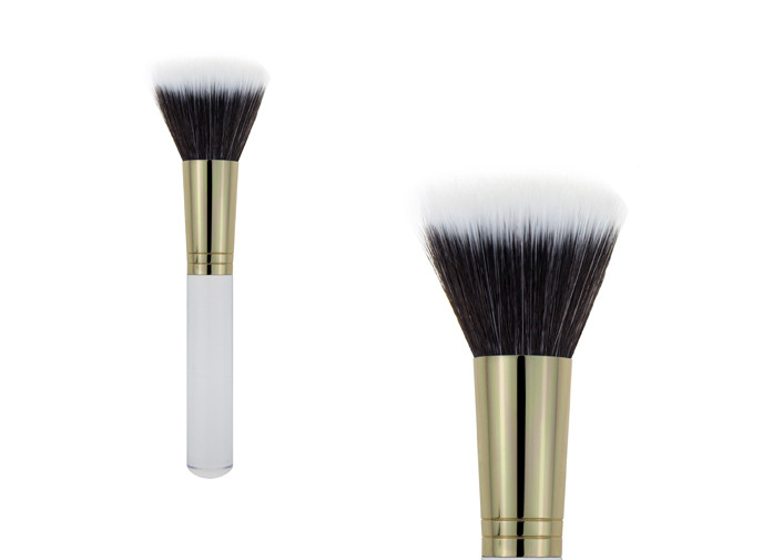 Favourite Short Handle Buffer Makeup Brush / Natural Bristle Makeup Brushes