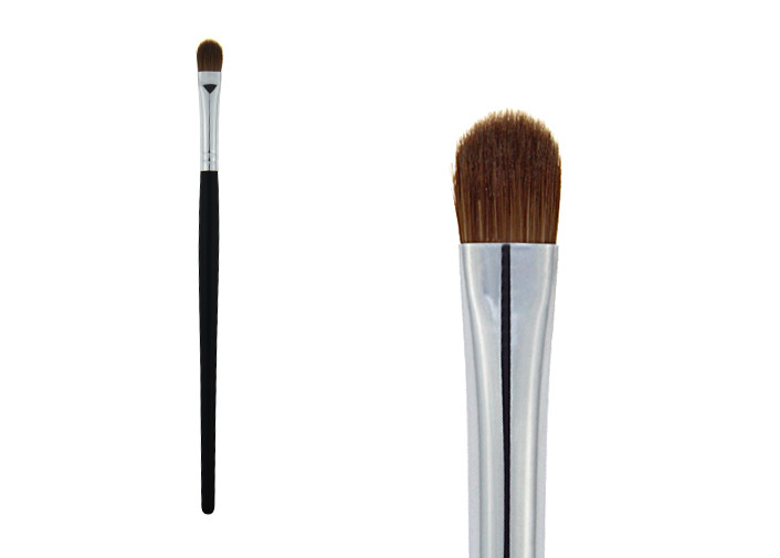 Black Short Smudger Brush Synthetic Large Eyeshadow Blending Makeup Brush