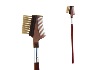 China Comb Eye Brow Brush Set Promotion Bristle Hair 110mm Long Handle factory