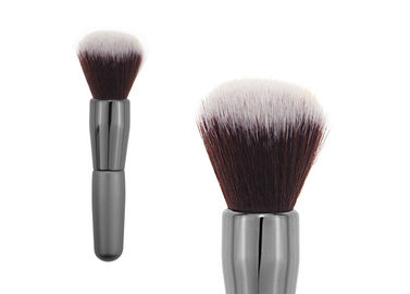 China Professional Goat Hair Tapered Retractable Blush Brush For Contouring Face factory
