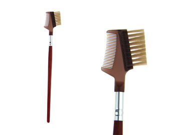 China Red Nylon Hair Eye Brow Brush Eyelash Comb Essential Tools Makeup Brushes factory