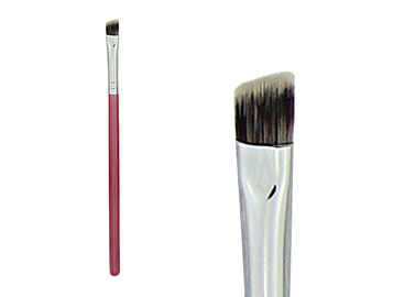 China Portable Nylon Hair Double Ended Eyebrow Brush For Makeup , Travel Size factory