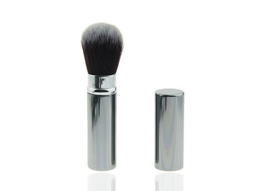 China Custom Beautiful Retractable Makeup Foundation Brushes Professional , Synthetic Hair factory