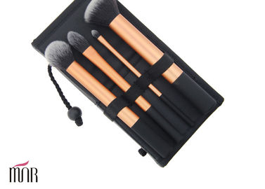 Custom Beauty Professional Travel Makeup Brush Cylinder With Cosmetic Brush Bag