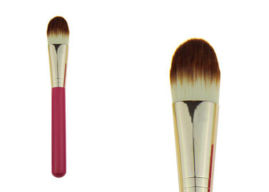 China Natural Liquid / Powder Synthetic Foundation Brush For Combination Skin factory