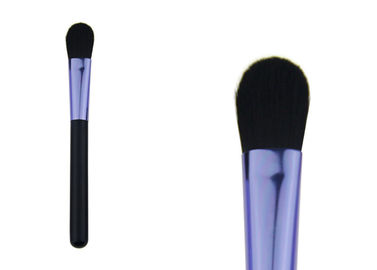 China Durable Purple Powder Foundation Concealer Brush / Private Label Makeup Brushes factory