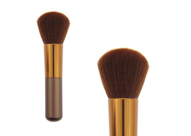 China Large Angled Contour Makeup Blush Brush For Foundation , Private Label factory